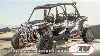2. ATV Television Latest News - 2014 Polaris RZR XP 4 1000