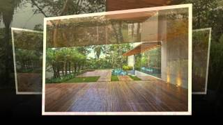 Архитектура дома Bosque da Ribeira от студии Anastasia Arquitetos