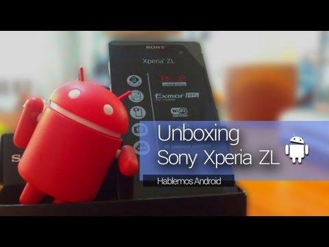 ☆[Unboxing] Sony Xperia ZL (Español) (видео)