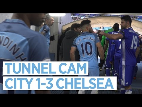 Video: TEMPERS FLARE AT THE ETIHAD! | TUNNEL CAM | City 1-3 Chelsea