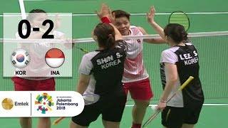 Video KOR vs INA - Badminton Beregu Putri: Full Highlights - Ganda Putri | Asian Games 2018 MP3, 3GP, MP4, WEBM, AVI, FLV Agustus 2018