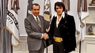 Elvis & Nixon, the King & the President