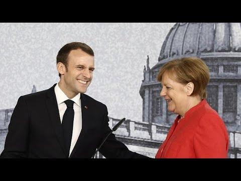 Κοινό μέτωπο Μέρκελ-Μακρόν για την ΕΕ