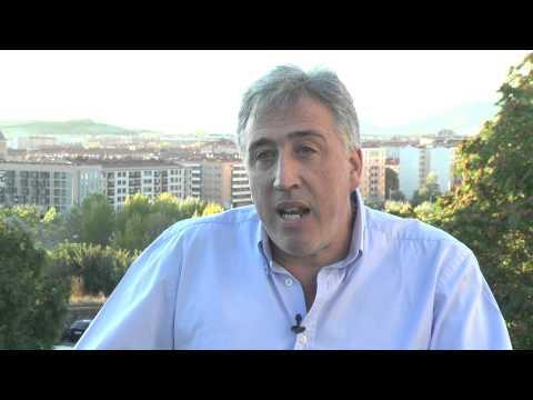 Joseba Asiron, EH Bilduren hautagaia Iruñeko alkatetzarako