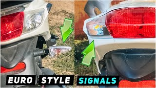 2. 2013+ Piaggio Fly - Rear Signal Modifications - European Style