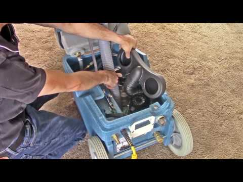 EDIC Galaxy Series Portable Carpet Extractors (видео)
