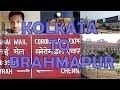 SH20|Train Vlog|Kolkata to Brahmapur|On board KING COROMANDAL Express|SER&ECoR