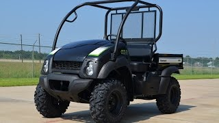 7. $8499 2015 Kawasaki Mule 610 XC in Super Black Overview and Review