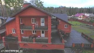Видео и виртуальный тур по загородному дому в Приморске