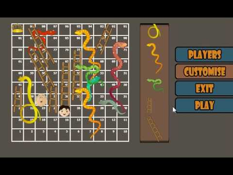 Video of Snakes and Ladders