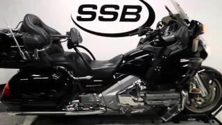 5. 2002 Honda GL1800A Goldwing Black - used motorcycle for sale - Eden Prairie, MN