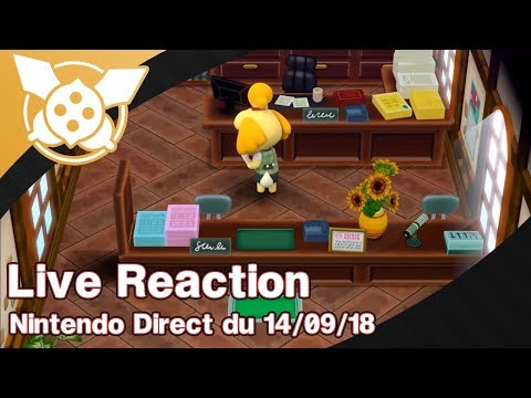 [REDIF] Live Reaction du Nintendo Direct du 14/09/2018