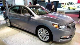 2014 Acura RLX P-AWS - Exterior And Interior Walkaround - 2013 New York Auto Show
