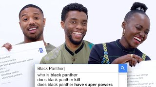 Video Black Panther Cast Answers the Web's Most Searched Questions | WIRED MP3, 3GP, MP4, WEBM, AVI, FLV Maret 2018