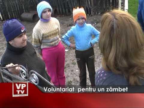 Voluntariat  pentru un zâmbet