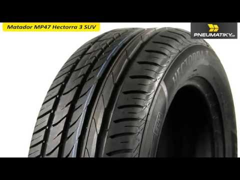 Youtube Matador MP47 Hectorra 3 SUV 255/55 R18 109 Y XL FR Letní