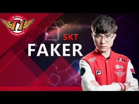 SKT Faker Live Stream - Hide on bush - [SK텔레콤 T1 / SK telecom T1] - League of legends - LoL