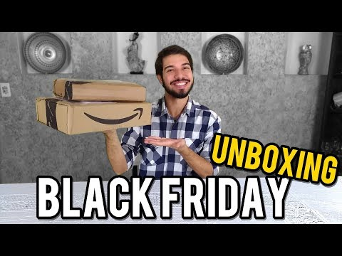 COMPRAS BLACK FRIDAY 2018 | Unboxing | O Refúgio
