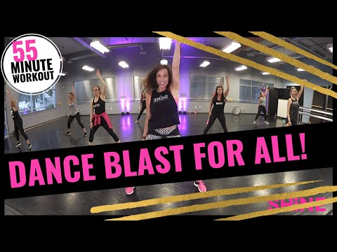 55 Min. Dance workout for all!  SHiNE DANCE FITNESS