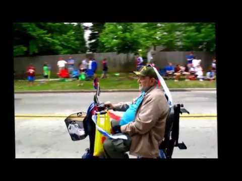 4th of July 2016 Parade in Vernon Hills, Illinois.