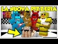 LA NOSTRA PRIMA NOTTE NELLA NUOVA PIZZERIA ANIMATRONICS! - Minecraft ITA