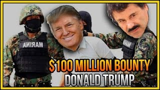 Donald Trump Vs El Chapo & 100 MILLION Dollars DEAD or ALIVE (GTA 5 Online)