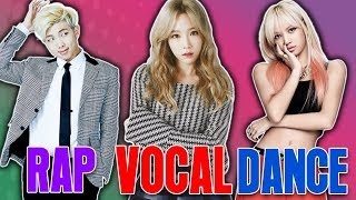 Video The KINGS and QUEENS OF KPOP -  (Dance, Vocal, Rap, Visual, etc.) MP3, 3GP, MP4, WEBM, AVI, FLV November 2018