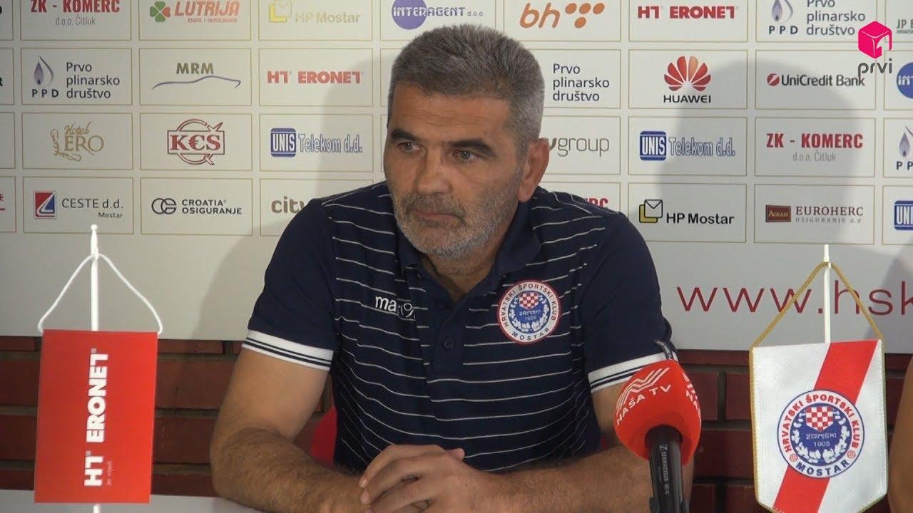 Press konferencija HŠK Zrinjski i NK Maribor