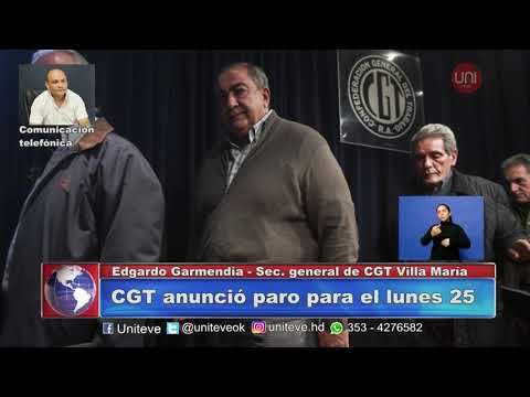 Paro General de la CGT para el 25 de junio
