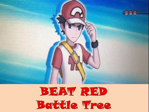 HOW I BEAT RED IN BATTLE TREE - Pokemon Sun & Moon