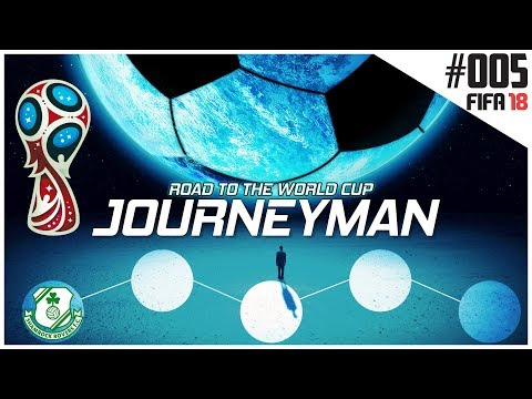 Fifa 18 Career Mode - Journeyman - Road to the World Cup - Ep 5 - Shamrock Rovers (видео)