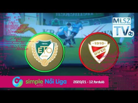 12. forduló: ETO FC Győr - DVTK 1-4 (0-2)