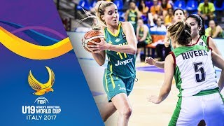 Watch Mexico v Australia at the FIBA U19 Women's Basketball World Cup 2017. ▻▻ Subscribe: http://fiba.com/subYT Click here...