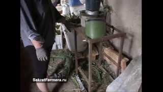 Как измельчить сено для кур в домашних условиях
