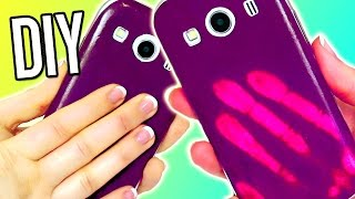 DIY COLOR CHANGING Phone Case! MOOD Iphone?! EASY - YouTube