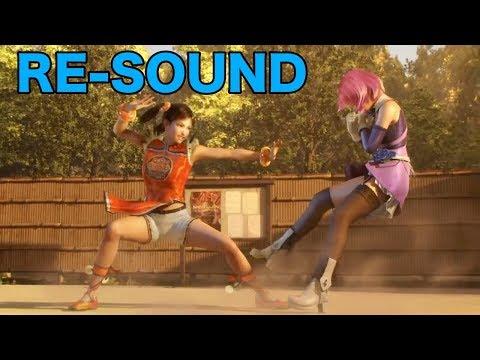 Tekken Blood Vengeance - Ling Xiaoyu VS Alisa Bosconovitch [RE-SOUND]