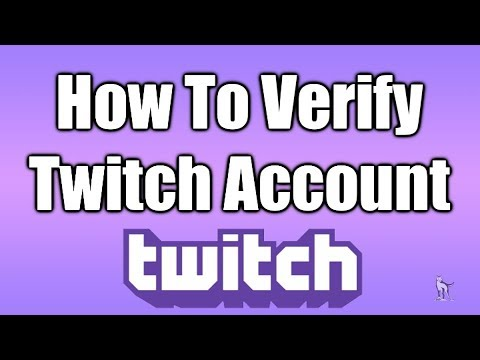 How To Verify Twitch Email