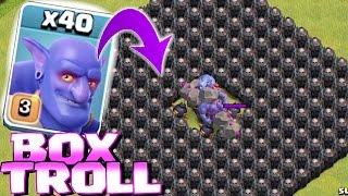 Video Clash Of Clans - ALL TROOPS IN A BOX!! (Box troll 2) MP3, 3GP, MP4, WEBM, AVI, FLV Oktober 2017