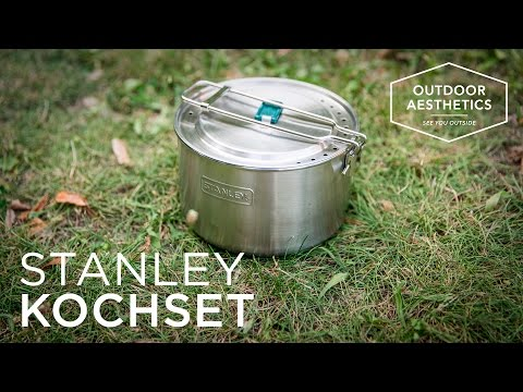 Test & Rezension: STANLEY Adventure Kochset / Kochtopf