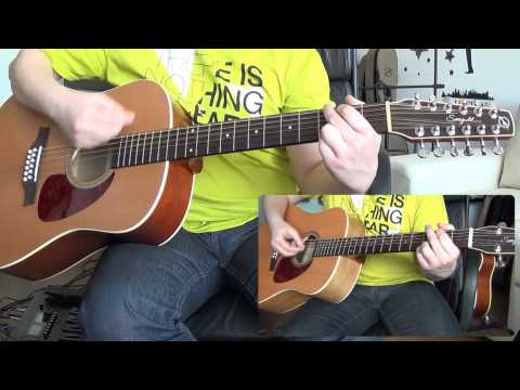 Video Pink Floyd - Wish You Were Here (12 string guitar cover with solos) HD download in MP3, 3GP, MP4, WEBM, AVI, FLV February 2017