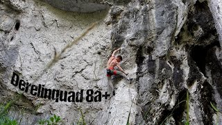 Derelinquad 8a+ (Schattenreich, Höllental) | Uncut Ascent by Mani the Monkey