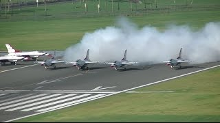 Video TJSJ Spotting: USAF Thunderbirds Departure! MP3, 3GP, MP4, WEBM, AVI, FLV Agustus 2018