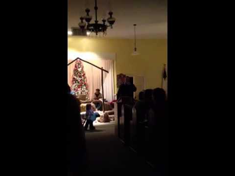 """Angels Cried"" Christmas play 2013 Michael Vann"