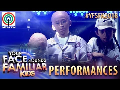 Your Face Sounds Familiar Kids 2018: TNT Boys as Salbakuta | S2pid Love (видео)