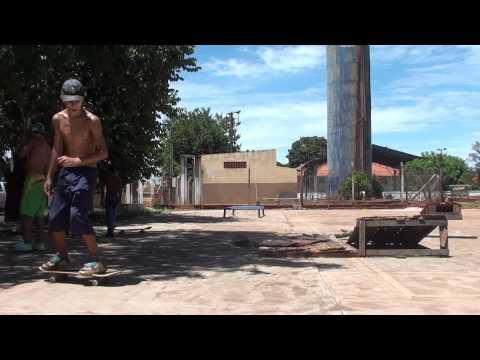 Skate big session em Salto Grande, yeah!!!
