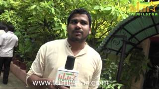 Praveen Oliver at Orey Oru Saatchi & Thupparivaan Ashok Press Meet