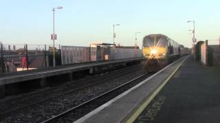 Drumcondra Ireland  City new picture : Drumcondra HD-Irish Rail 201 no.229+Belmond Mk3's pass on transfer to North Wall