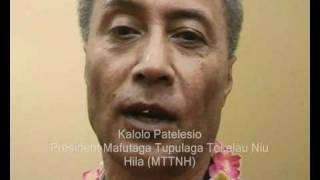 Tokelau community leaders comment a special day for Tokelau in Parliament.