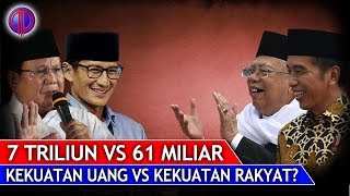Video Prabowo-Sandi 7 Triliun Vs Jokowi-Ma'ruf 62 Miliar, Kekuatan Uang Vs Kekuatan Rakyat? MP3, 3GP, MP4, WEBM, AVI, FLV Agustus 2018