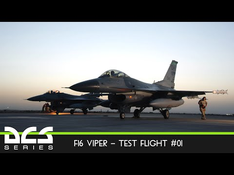 DCS World Práctica F16